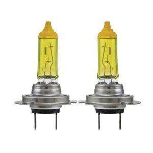 لامپ هالوژن خودرو لیتچ مدل H7 رنگ زرد