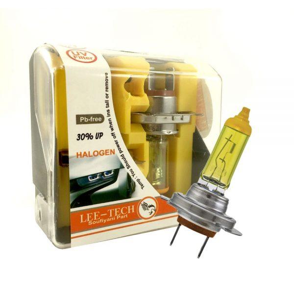 لامپ هالوژن زرد لیتچ H7