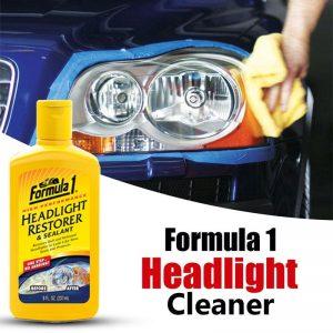 محلول پاک کننده چراغ های خودرو فرمول وان
