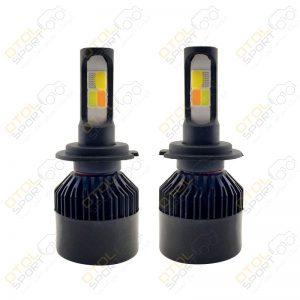 لامپ هدلایت چهار رنگ C4 چهار حالته