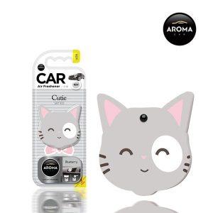 خوشبو کننده خودرو مدل گربه ها آروما در سه رایحه